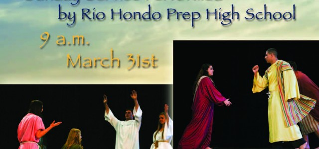 Come enjoy Sunday morning Easter service in the Stivers Center at Kare. The service will be performed by many of your assistant coaches from Rio Hondo Prep. The service begins […]